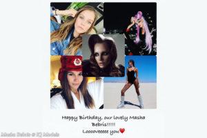 Happiest Birthday dearest Masha!