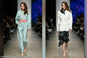 Anastasia Tolboeva walked for Product of Imitation S/S 2020