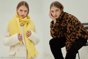 Liza Nedobey for Platinum Studio Lookbook (Seoul)