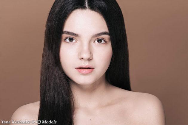 Yana Kostenko new beauty story by Nina Tsybok