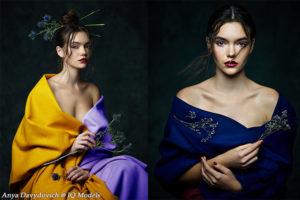 Anya Davydovich Couture Story by Vadim Piskarev