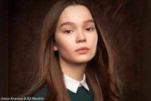 Anna Krasina by Alexander Vinogradov