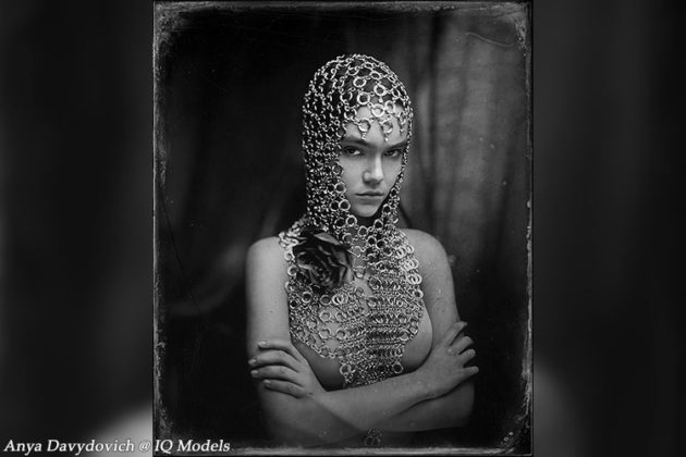 Anya Davydovich by Sergey Romanov