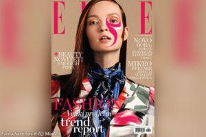 Elena Sartison cover for ELLE Hrvatska, March 2020