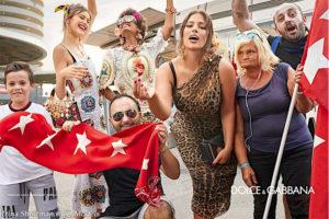 Irina Shnitman for Dolce Gabbana SS2019 Campaign