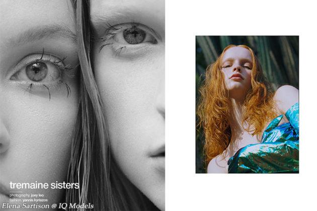 Elena Sartison for Schon magazine