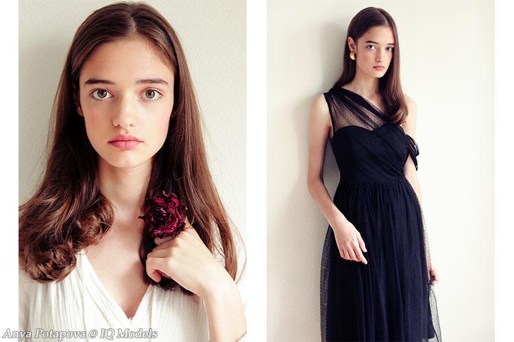 Anya Potapova by Olya Selivanova - IQ Models Agency