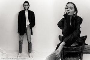 Anna Krasina by Sasha Vasha
