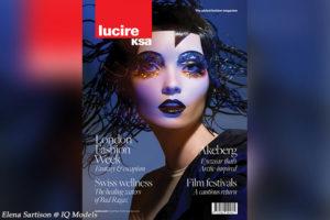 Elena Sartison cover for Lucire Magazine RSA, November 2020