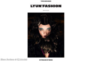 Elena Sartison's Cover of LYUN Magazine, USA