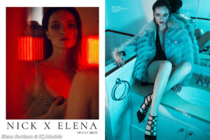"Elena Sartison in ""Elena X Nick"" story for PUMP Magazine, USA"