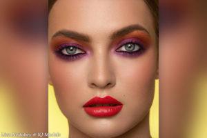 Liza Nedobey for Shiseido makeup