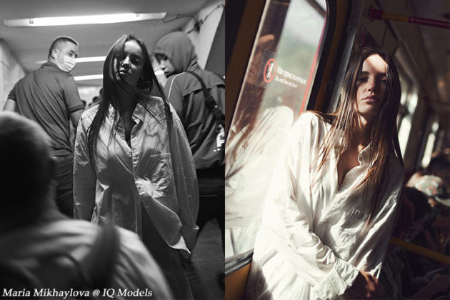 """Maria Mikhaylova's """"In and out. Moscow underground."""". Ph. Ivan Gotovets"""