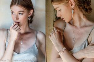 Katya Kuznetsova for Kaora Sandara jewelry