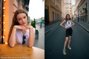 Nastya Shuvaeva by Anton Kartascheff