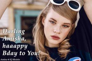 Darling Amisha, haaappy Bday to You!