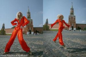 Danila Polyakov campaign for Emma Salzberg
